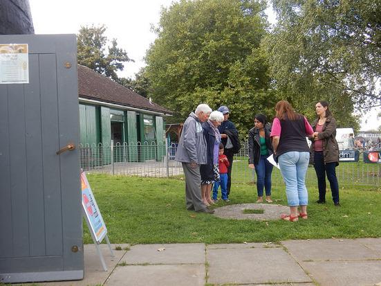 visitors at brixton windmill