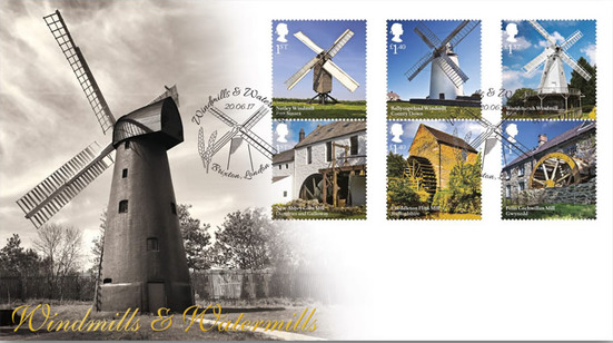 Brixton Windmill first day cover